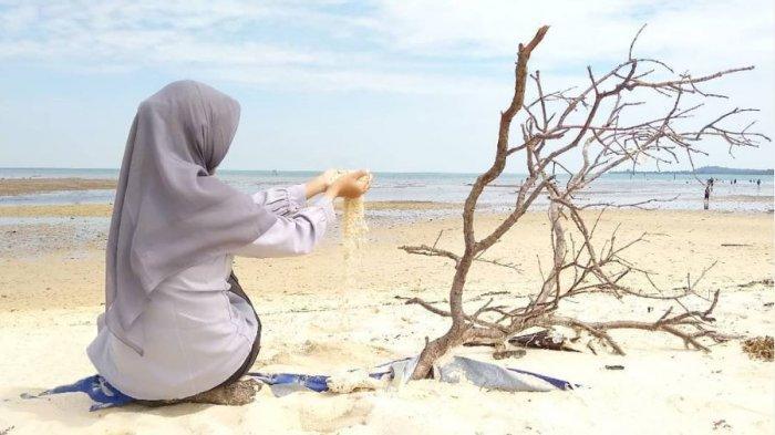 Keindahan Pantai Setokok di Pulau Rempang, Terkenal Karena Pemandangan Pasir Putihnya