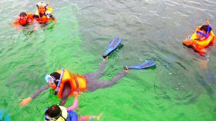 Keseruan Snorkeling di Pulau Abang Batam, Miliki Air Laut Jernih dan Terumbu Karang Indah