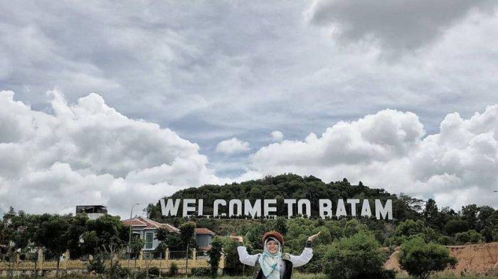 Masih Jadi Destinasi Favorit, Taman Welcome To Batam Ramai Dikunjungi Saat Akhir Pekan