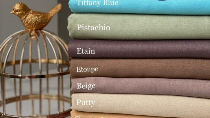 Aneka warna kain rayon berkualitas tinggi tersedia di 178 Textile Jalan Jenderal Sudirman No 56, Karanganyar, Kota Bandung.
