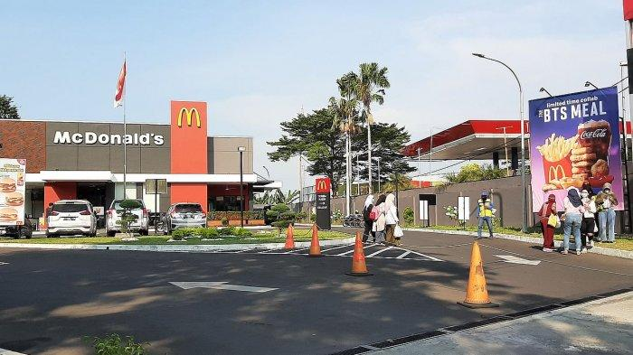 Dalam 90 Menit menu BTS Meal di Gerai McD Brigjen Dharsono Cirebon Habis Terjual, Banyak yang kecewa