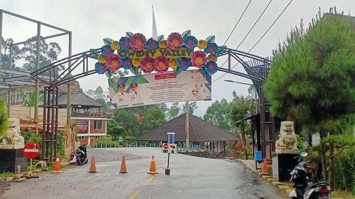 Salah satu hotel dengan fasilitas pemandian air panas alami di Ciwidey, Kabupaten Bandung
