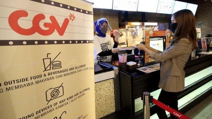 Suasana Bioskop CGV di Bandung yang tahun lalu sempat buka