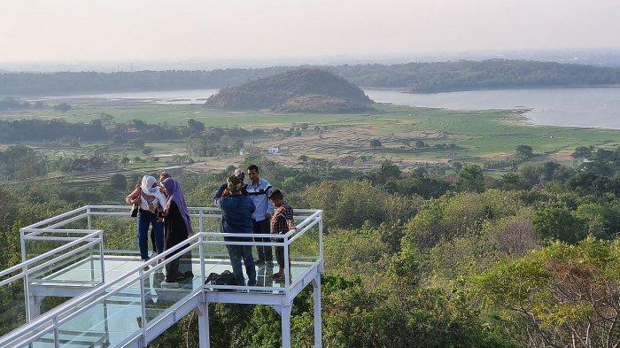 Objek Wisata baru di Kabupaten Cirebon, Bukit Antigalau Mundu, Pemandangan Indah yang Terhampar