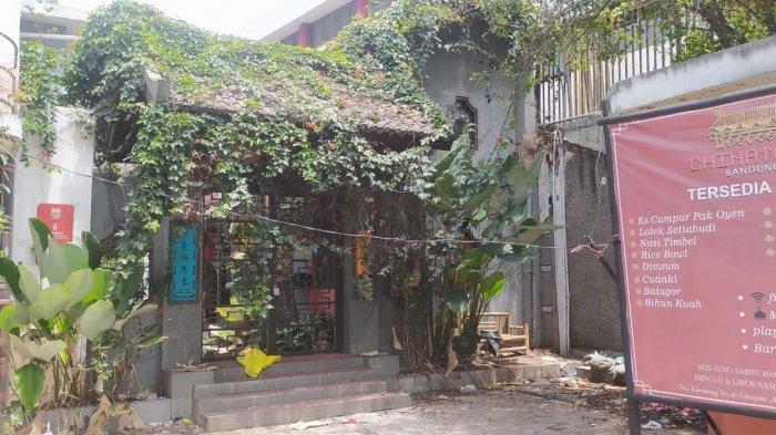 Kondisi China Town Bandung di Jalan Kelenteng yang terlantar sejak tahun 2020