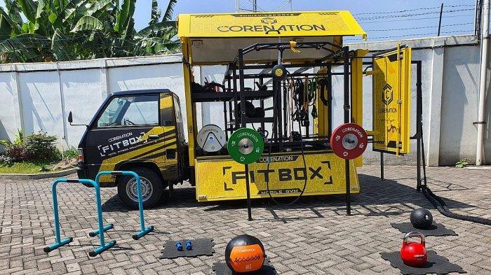Fit Box sebuah inovasi untuk gym di rumah