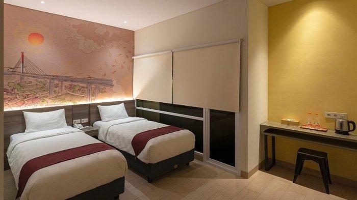 Fasilitas kamar di Hotel 88 Alun-alun Kota Bandung
