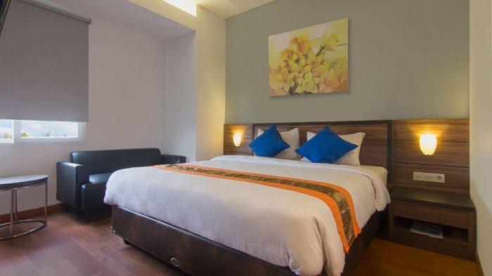 Fasilitas kamar tidur di Hotel 88 Kopo, Bandung