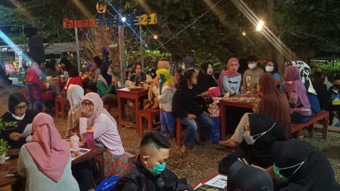 Kafe Bukit 21 Awalnya Semak Belukar, Kini Jadi Tempat Kuliner Bernuansa Taman Dikelola Warga