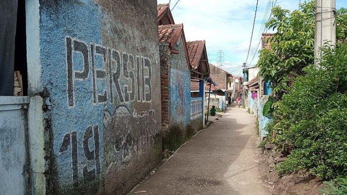 Kampung Persib di Dusun Cibungur, Kecamatan Cintamulya, Kabupaten Sumedang