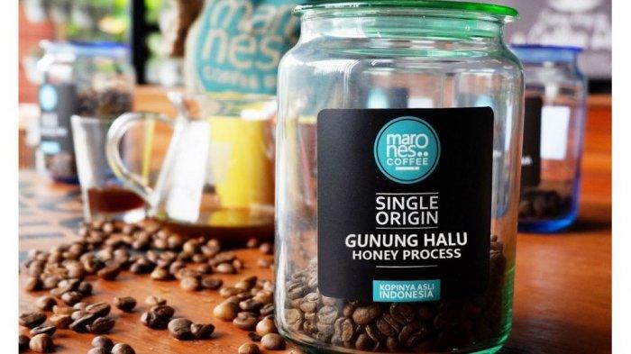 contoh produk kopi Gunung Halu