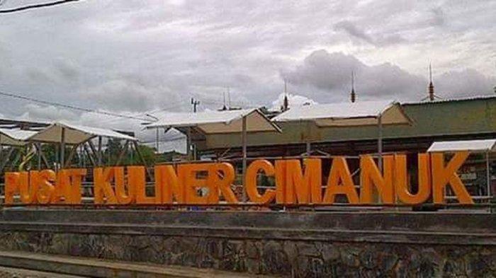 Pusat Kuliner Cimanuk di Tepi Sungai Cimanuk, tidak jauh dari Alun-alun Cimanuk