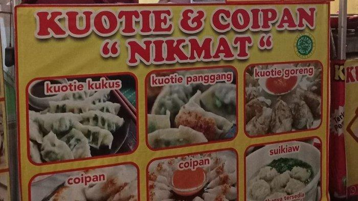 Booth Kuotie Nikmat di Sudirman Street Day and Night Culinary