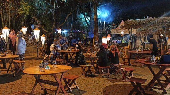 Suasana Leuweung Seni di Kelurahan Ciseureuh, Kecamtan/Kabupaten Purwakarta