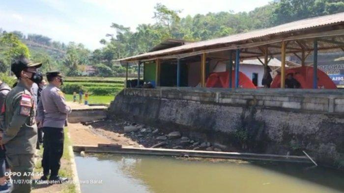 Lokasi Isolasi Mandiri di Desa Bentar Peundeuy, Banjarwangi, Garut Berada di Kawasan Wisata Tubing