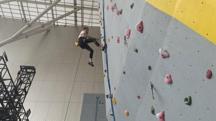 Kota Bandung Punya Manjat Climbing Gym, Berolahraga Penuh Tantangan Sambil Berwisata Sehat