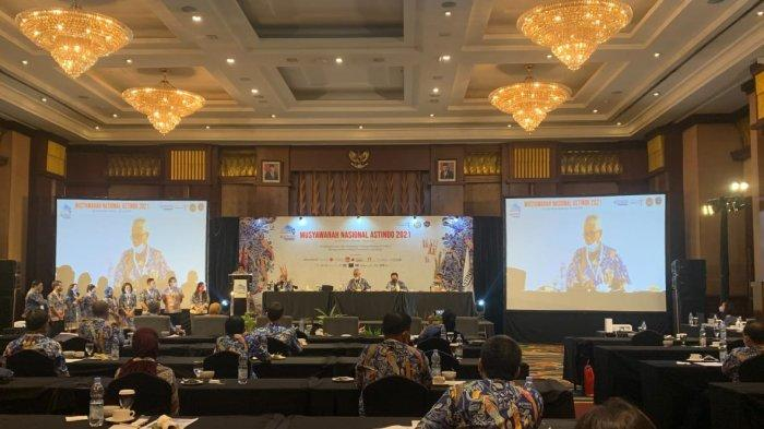 Munas Asindo di Hotel El Royale, Bandung, Rabu (9/6/2021)