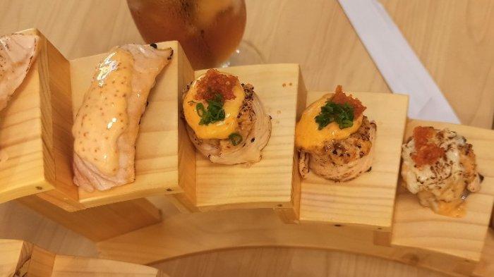 Nikmatnya Menyantap Berbagai Jenis Sushi di Okinawa Sushi Bandung dengan Tampilan yang Instagramable