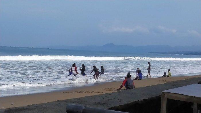 Dinas Pariwisata Diminta Pasang Rambu-rambu Larangan Berenang di Zona Berbahaya Pantai Citepus