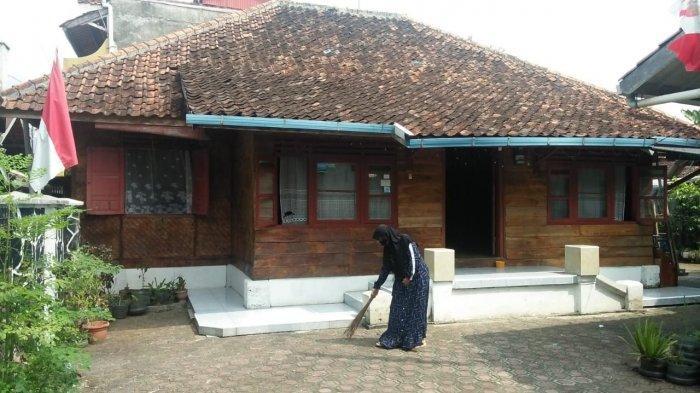 Rumah pahlawan nasional Cut Nyak Dien di Jalan Pangeran Soeria Atmadja, Kotakulon, Kecamatan Sumedang Selatan.