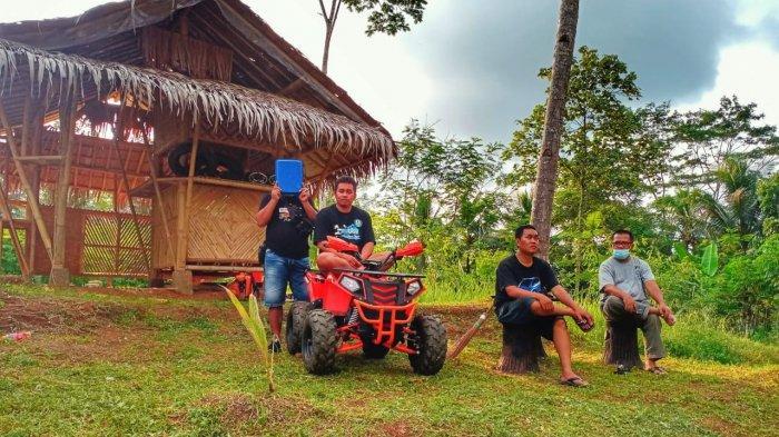 Menikmati Wisata di Sayang Kaak Ciamis di Bawah Pantauan Satgas Covid-19