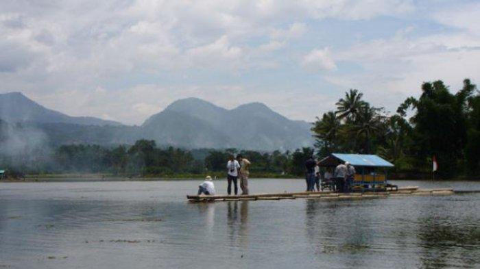 Situ Ciburuy di Kecamatan Padalarang, Kabupaten Bandung Barat (KBB)
