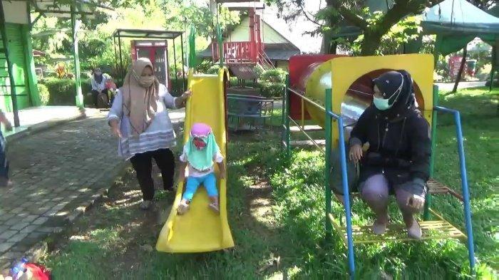 Vaksinasi Covid-19 di Objek Wisata, Masyarakat Subang Disuguhkan Suasana Sejuk di Sari Ater