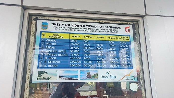 Tiket Masuk Jadi Ukuran Pengaturan Kunjungan Wisatawan ke Objek-objek Wisata di Pangandaran