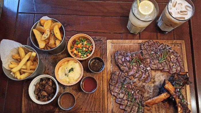 Sensasi Vanila Wagyu Meltique dan Lezatnya Steak Berkualitas di Restoran Bergaya American Style
