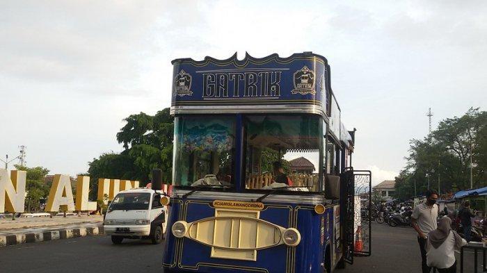 Bus Gatrik Menambah Lengkap Keceriaan Ramadan, Siap Ajak Warga Keliling Kota Ciamis