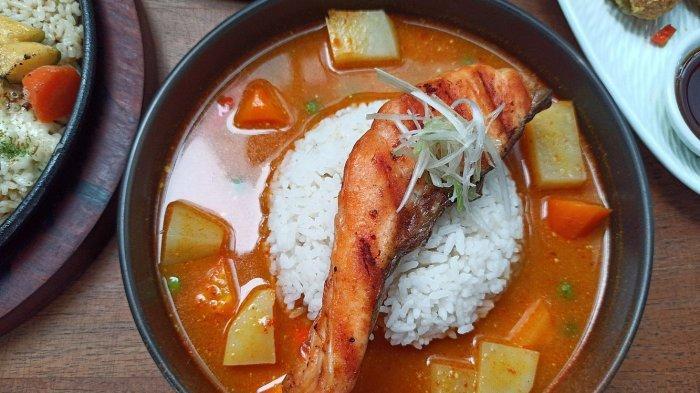 Mencoba Menu Sehat Bernutrisi, Grilled Salmon Curry, Cocok untuk Diet