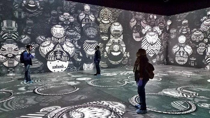 Kala.Borasi, Ruang Seni Digital yang Memanjakan Pancaindra dengan Video Maping Berkualitas Tinggi