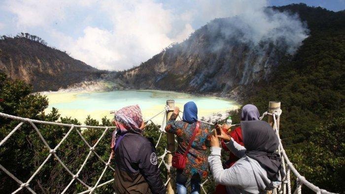 Vaksinasi Digelar di Hotel dan Objek Wisata Kawah Putih Kabupaten Bandung