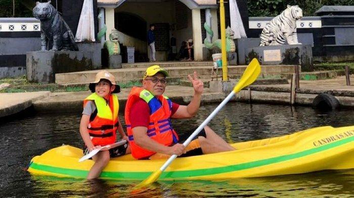 Sensasi Bermain Kayak di Situ Lengkong Panjalu Ciamis, Olahraga Rekreasi di Keindahan Alam