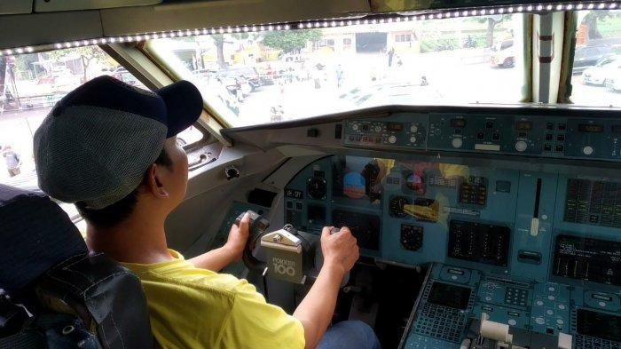 Belajar Naik Pesawat Terbang di Objek Wisata J&J Kuningan, Harga Tiketnya Murah
