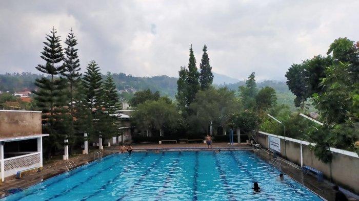 Segarnya Berenang di Kolam Renang Panorama di Kaki Gunung Manglayang, Tiket Hanya Rp 20 Ribu