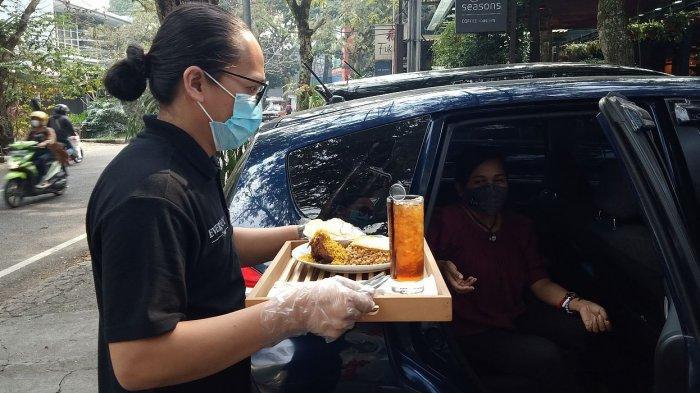 Everjoy Cafe Sediakan Layanan Makan di Mobil dengan Menu Ala Carte, Jadi Tren baru di Tengah Pandemi