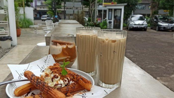 Menu di De.u Coffee