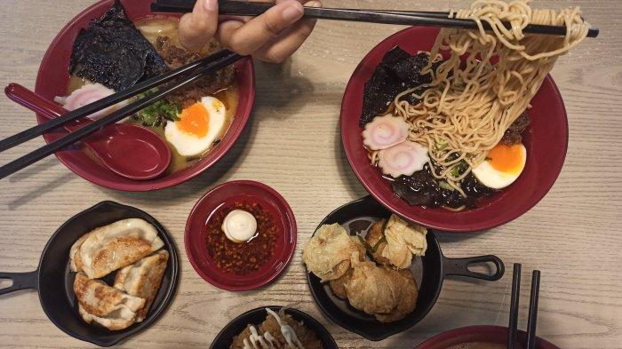Tiga Pilihan Kuah Ramen di Rameninpo Pasar Kosambi, Harga Terjangkau, Serasa di Kedai Mini Jepang