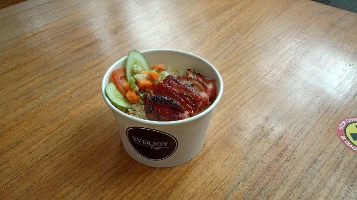rice bowl nasi goreng ayam panggang madu