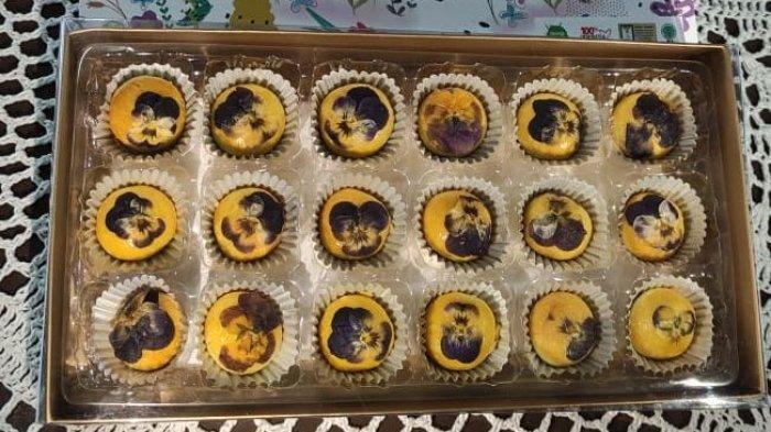 Bingkisan Indah untuk Lebaran, Nastar Edible Flower Ala J&C Cookies