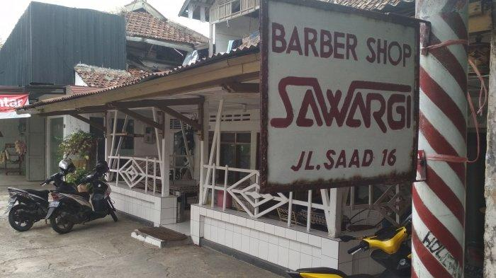 Pangkas Rambut Sawargi Sudah 71 Tahun, Dulu Bung Karno Kerap Cukur Rambut di Sini