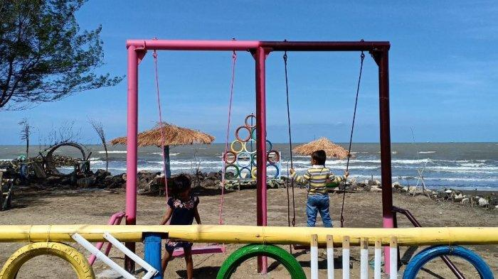 Pantai Tirta Ayu, Pantai Legendaris yang Terlahir Kembali, Ada Desa Wisata Dermayu