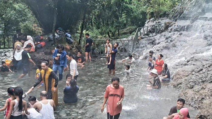 Libur Lebaran Tahun Ini Pengunjung ke Objek Wisata Pemandian Air Panas Ciater Tidak Meningkat