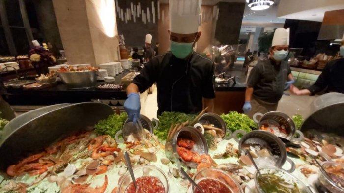 Makan Malam Khas Oriental dan Fusion ala Buffet di Hotel Bintang 5, Makan Sepuasnya Rp 388 Ribu