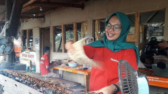 Sate kambing Muda di Tanjungsari ini Benar-benar Empuk Lezat, Daging Kambingnya Disembelih Dadakan