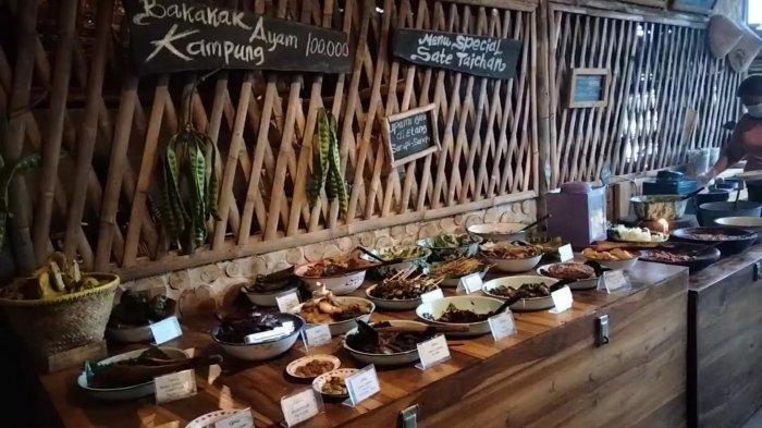 Makan Sepuasnya Rp 10 Ribu di Kedai Kaki Gunung Ciremai, Menu Khas Sunda Plus Sayur Lodeh