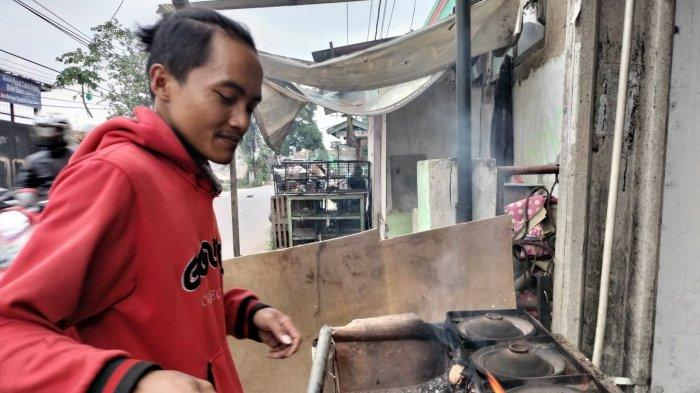 Serabi Oncom Buatan Rudi Jadi Favorit, Harganya Hanya Rp 2.000, Tersedia Juga Aneka Serabi Kekinian