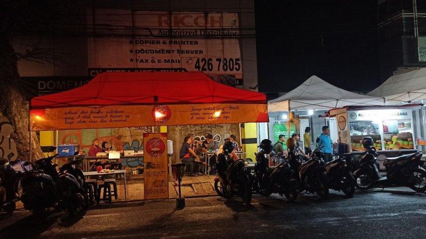 Jalan Lengkong Kecil Menjadi Surga Kuliner Baru di Kota Bandung