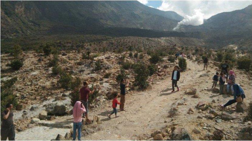 Wisata ke Gunung Papandayan Harus Sudah Divaksin Minimal Sekali, Wisatawan ke Garut Bakal Membeludak